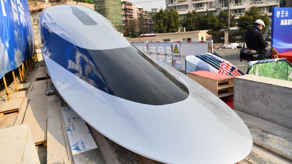Edan, Prototipe Kereta Cepat China Melaju 620 Km/Jam