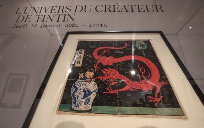 Komik Langka Tintin Dilelang di Paris