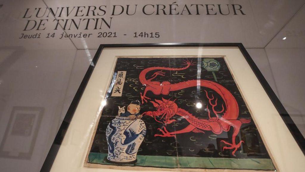 Komik Langka Tintin Ditaksir Terjual Rp 51,4 Miliar di Paris