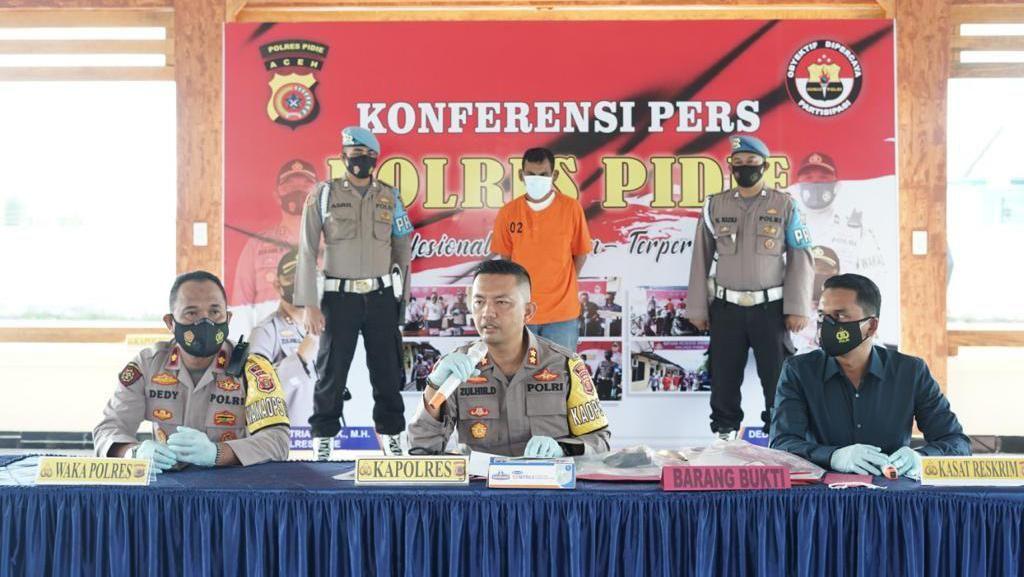 Kejinya Pria Aceh Perkosa 3 Wanita Termasuk Lansia hingga Tiada