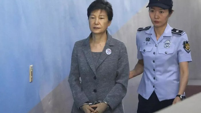 Mantan presiden Korsel Park Geun-hye (AFP Photo)