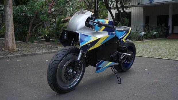 Motor sport listrik buatan Universitas Budi Luhur, BL-SEV01