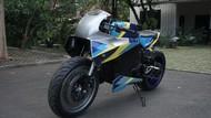 Motor Listrik Universitas Budi Luhur Diluncurkan, Usung Gaya Sport Cafe Racer