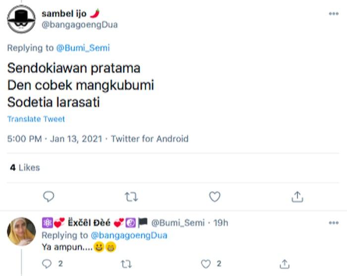 """Netizen Lomba Bikin Nama Bayi dari Alat Dapur, Ada """"Sutil Wajani"""""""