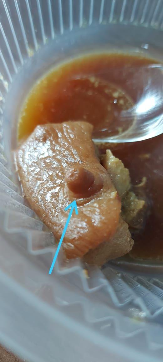 Pesan Babi Kecap via Ojol, Orang Ini Kaget Temukan Puting Babi