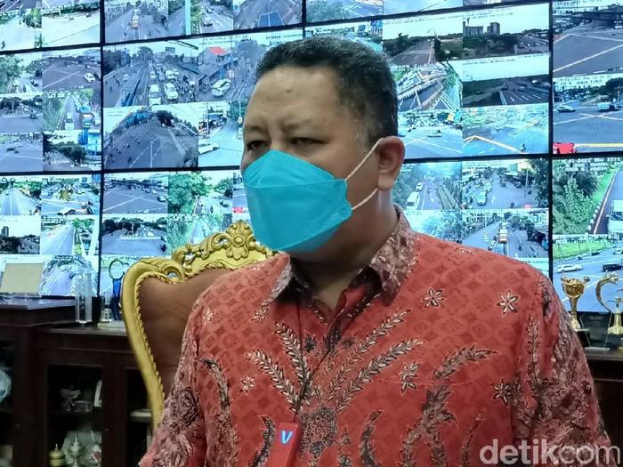 Plt Wali Kota Surabaya Wishnu Sakti Buana.