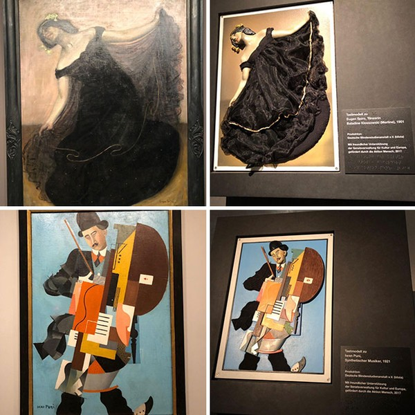 Museum di Berlin memiliki lukisan versi khusus untuk tunanetra. (dok Bored Panda)