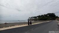 Foto: Pantai Batu Hiu Pangandaran Punya Spot Instagramable Baru