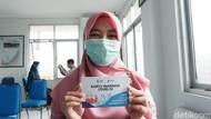 7 Nakes Jalani Vaksinasi di Puskesmas Antapani Bandung