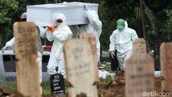 Baru Dibuka 5 Hari, TPU Bambu Wulung Jaktim Sudah Terisi 162 Jenazah COVID