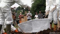 TPU Srengseng Sawah Dipakai untuk Makam COVID-19