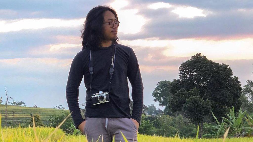 Kata Pria Gondrong yang Viral Jadi Korban Begal Payudara di Yogyakarta