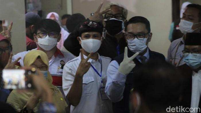Vaksinasi di RSHS Bandung