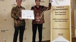 AKR Land Sabet 5 Juara dalam Anugerah Indonesia Property Awards 2020