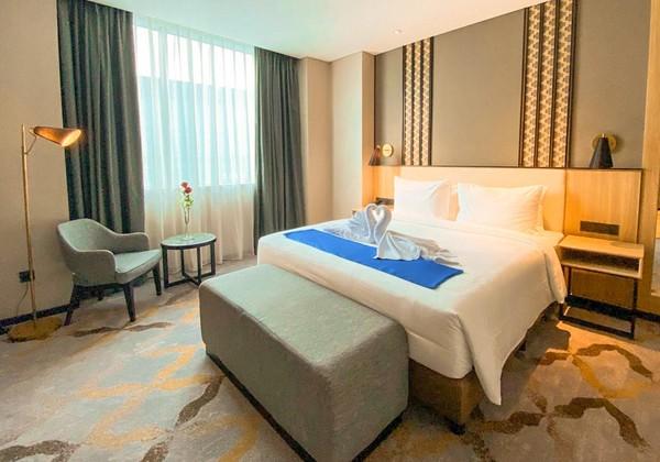 Hotel baru ini mulai beroperasi pada 1 Januari 2021 dengan menyediakan 147 kamar.