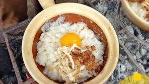 Bubur Bakar, Sensasi Baru Makan Bubur Ayam yang Ngehits