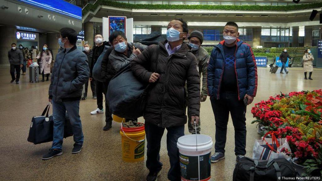 China Minta Pekerja Tidak Pulang Kampung Saat Tahun Baru Imlek