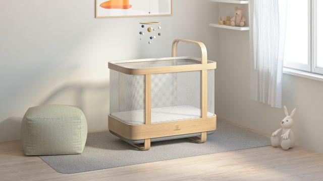 Cradlewise crib baby