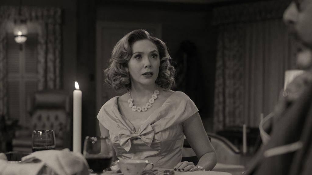 Elizabeth Olsen di WandaVision