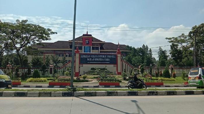 Gedung Polda Sumut (Ahmad Arfah-detikcom)