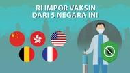 Ini Dia 5 Negara Pemasok Vaksin ke Indonesia