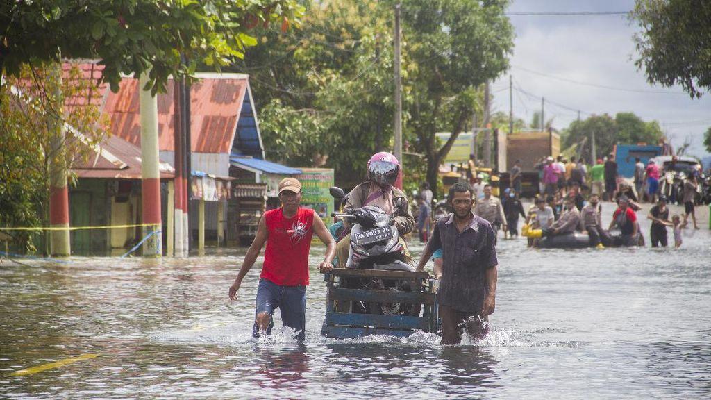 Update Banjir di Kalimantan Selatan: 2.600 Warga Mengungsi