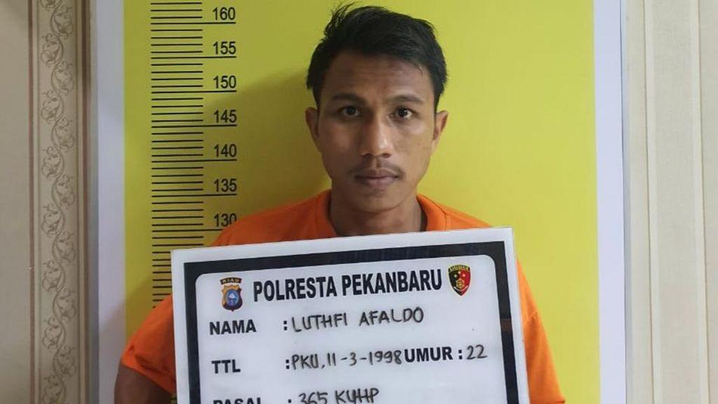 Jambret Anak Pejabat Tinggi Polda Riau, Pria di Pekanbaru Ditembak Polisi