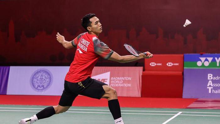 Jonatan Christie tersingkir di perempatfinal Thailand Open 2021