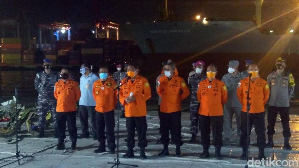 Hasil 7 Hari Evakuasi Sriwijaya Air: 272 Bagian Tubuh-96 Serpihan Pesawat