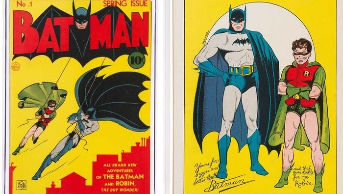 Komik Batman #1 (1940) Laku Terjual Rp 30,8 miliar