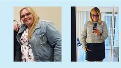 Makan Sayuran dan Buah, Ibu Ini Berhasil Turunkan Berat Badan 59 Kilogram