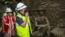 Terkuaknya Relief Kuno di Sarinah hingga Disambangi Erick Thohir