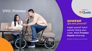 Lewat Fitur Proteksi, Bayar Asuransi Sepeda Bisa Pakai OVO