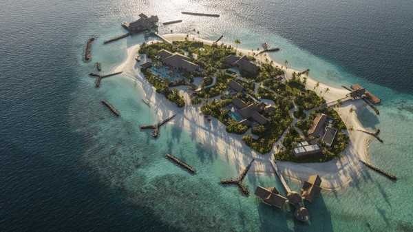 Maldives begitu terkenal dengan pantai-pantainya yang indah. Negara ini memiliki 1.200 pulau kecil. (CNN)