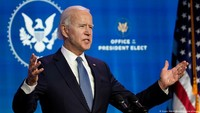 Baru Menjabat, Joe Biden Langsung Batalkan Proyek Pipa Minyak