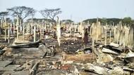 Kebakaran Hancurkan Rumah Ribuan Pengungsi Rohingya di Bangladesh