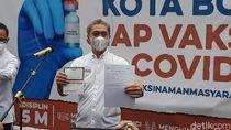 Sehari Usai Divaksinasi, Wawalkot Bogor: Sedikit Ngantuk Tapi Masih Normal