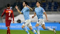 Lazio Vs Roma: Elang Ibu Kota Menangi Derby della Capitale 3-0