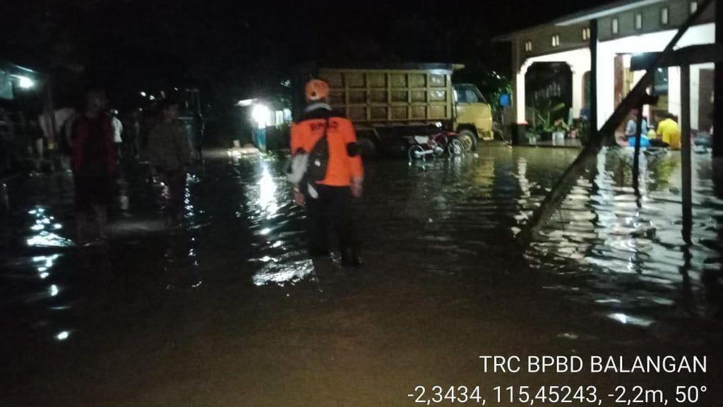 Banjir Kalsel, 3.571 Rumah Terendam di Balangan-11.816 Jiwa Terdampak