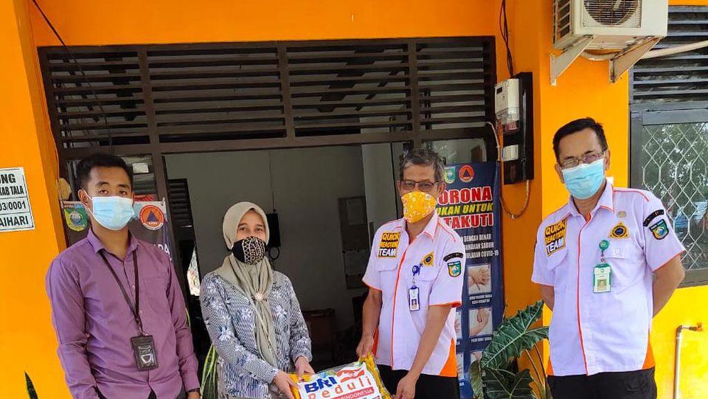 Bantu Korban Banjir Kalsel, BRI Dirikan Posko & Donasi Rp 125 Juta