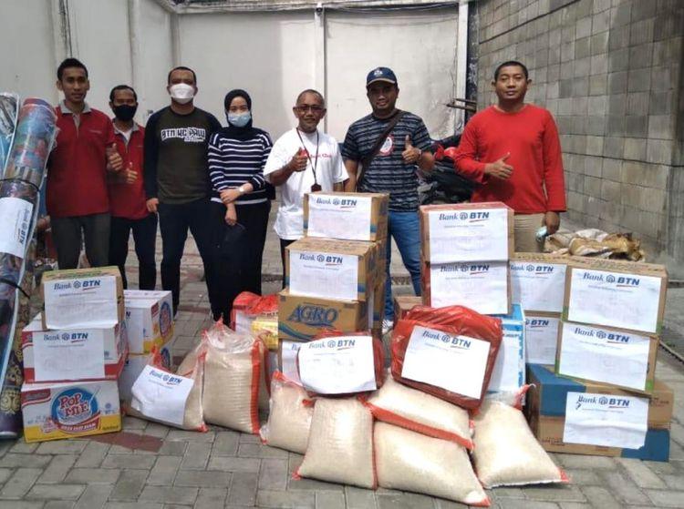 Bantuan untuk Korban Gempa Mamuju Mulai Disalurkan