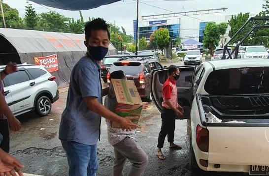 BRI Dirikan Posko dan Berikan Bantuan Untuk Korban Banjir Kalimantan Selatan. (Dok. BRII)