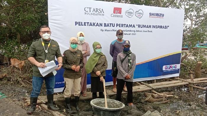 CT ARSA Foundation membangun Rumah Inspirasi di Bekasi