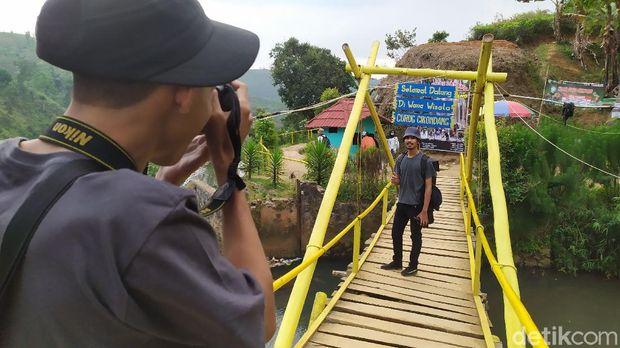 Curug Cikondang di Cianjur