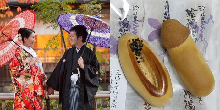 Duh! Kue Manju Jepang Ini Bentuknya Mirip Alat Kelamin