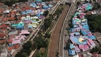 Pengecatan Atap Sekitar Flyover Tapal Kuda Dikritik, Ini Kata Pemkot Jaksel