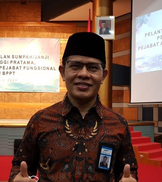 Jon Arifian, Kepala Balai Besar Teknologi Modifikasi Cuaca (Dok BBTMC BPPT)