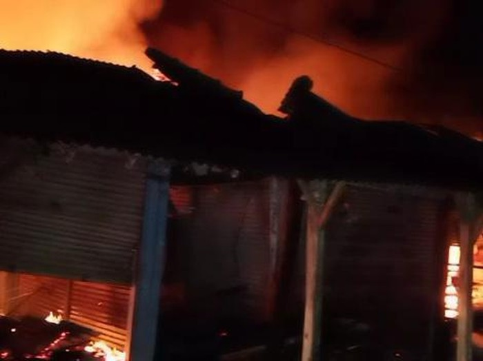 Kebakaran Pasar Pamanukan Subang.