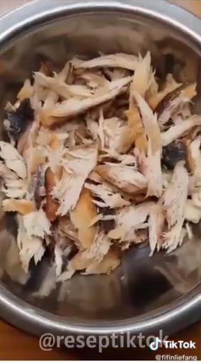 Masak Nasi Ikan Tongkol Pakai Rice Cooker