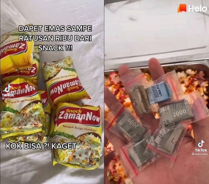 Ngeluh Cuma Dapat Rp 50 Ribu dari Snack, Pria Ini Banjir Kritik Netizen